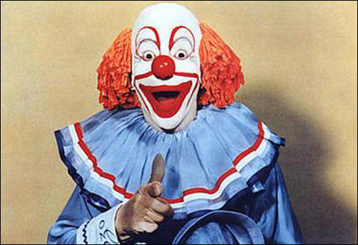 Image result for bozo clowns