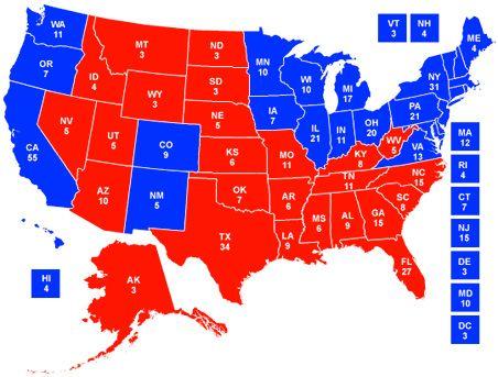 Us Delegate Map