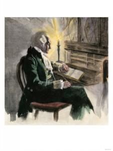 George Washington Busy at Work